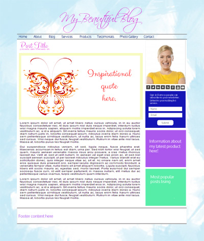 Layout - Blog - sample1