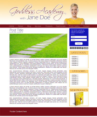 Layout - Blog - sample2