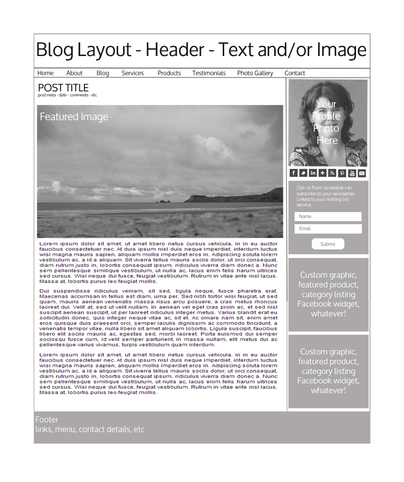 Layout - Blog