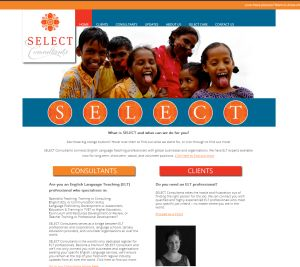 SELECT Consultants Website - private membership area, custom member reporting, blog.